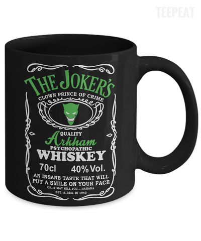 The Joker Arkham Mug