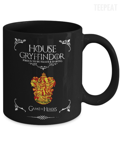House of Gryffindor Mug-Coffee Mug-TEEPEAT