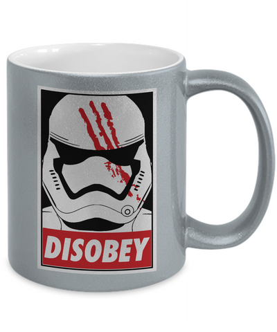 Star Wars DisOBEY Metallic Mug