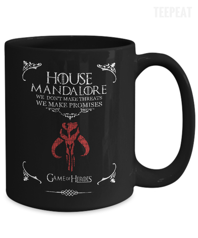 House of Mandalore Mug-Coffee Mug-TEEPEAT