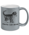 Proud Cat Mom Metallic Mug-Coffee Mug-TEEPEAT