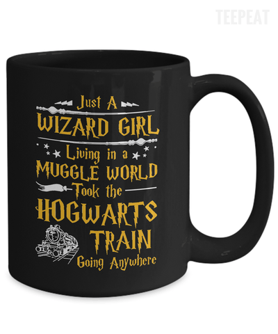 Wizard Girl Mug-Coffee Mug-TEEPEAT