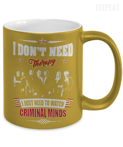 Watch Criminal Minds Metallic Mug-Coffee Mug-TEEPEAT