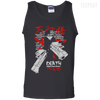 CustomCat Apparel 100% Cotton Tank Top / Black / Small Death the Kid Tee V2