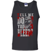 CustomCat Apparel 100% Cotton Tank Top / Black / Small Do You Bleed Tee