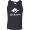 CustomCat Apparel 100% Cotton Tank Top / Black / Small Dota 2 Team Secret Tee