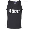 CustomCat Apparel 100% Cotton Tank Top / Black / Small Dota 2 Team Secret Tee V2