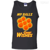 CustomCat Apparel 100% Cotton Tank Top / Black / Small Dragon Ball Z Grant Wishes Tee