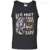 CustomCat Apparel 100% Cotton Tank Top / Black / Small Dumbledore Tee