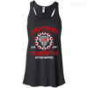 CustomCat Apparel Bella+Canvas Flowy Racerback Tank / Black / X-Small Akatsuki Organization Ladies Tee