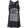 CustomCat Apparel Bella+Canvas Flowy Racerback Tank / Black / X-Small Brotherhood Ladies Tee