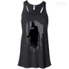 CustomCat Apparel Bella+Canvas Flowy Racerback Tank / Black / X-Small Dark Night Ladies Tee