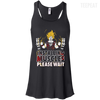 CustomCat Apparel Bella+Canvas Flowy Racerback Tank / Black / X-Small DBZ - Installing Muscles Ladies Tee