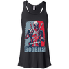 CustomCat Apparel Bella+Canvas Flowy Racerback Tank / Black / X-Small Deadpool Boobies Ladies Tee