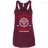 CustomCat Apparel Bella+Canvas Flowy Racerback Tank / Maroon / X-Small Akatsuki Organization Ladies Tee