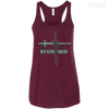CustomCat Apparel Bella+Canvas Flowy Racerback Tank / Maroon / X-Small Beta Tester Cheater Ladies Tee