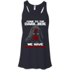CustomCat Apparel Bella+Canvas Flowy Racerback Tank / Midnight / X-Small Come To The Dark Side Ladies Tee
