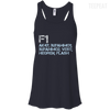 CustomCat Apparel Bella+Canvas Flowy Racerback Tank / Midnight / X-Small Counter Strike Buy AK47 Blue Ladies Tee
