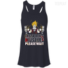 CustomCat Apparel Bella+Canvas Flowy Racerback Tank / Midnight / X-Small DBZ - Installing Muscles Ladies Tee