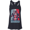 CustomCat Apparel Bella+Canvas Flowy Racerback Tank / Midnight / X-Small Deadpool Boobies Ladies Tee