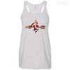 CustomCat Apparel Bella+Canvas Flowy Racerback Tank / Vintage White / X-Small Captain Pulse Ligth Tee