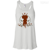 CustomCat Apparel Bella+Canvas Flowy Racerback Tank / White / X-Small Deadpool Pulse Light Tee
