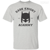CustomCat Apparel Custom Ultra Cotton T-Shirt / Ash / Small Dark Knight Academy Tee