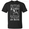 CustomCat Apparel Custom Ultra Cotton T-Shirt / Black / Small Alan Rickman Tee