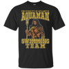 CustomCat Apparel Custom Ultra Cotton T-Shirt / Black / Small Aquaman Swimming Team Tee