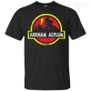 CustomCat Apparel Custom Ultra Cotton T-Shirt / Black / Small Arkham Asylum Tee