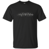 CustomCat Apparel Custom Ultra Cotton T-Shirt / Black / Small Bat Pulse Tee