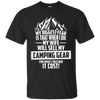 CustomCat Apparel Custom Ultra Cotton T-Shirt / Black / Small Biggest Fear Camping Gear Tee