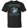 CustomCat Apparel Custom Ultra Cotton T-Shirt / Black / Small Bookworms Will Rule The World Tee