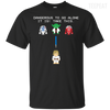 CustomCat Apparel Custom Ultra Cotton T-Shirt / Black / Small Dangerous to go Alone Tee