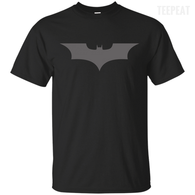 CustomCat Apparel Custom Ultra Cotton T-Shirt / Black / Small Dark Knight