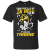 CustomCat Apparel Custom Ultra Cotton T-Shirt / Black / Small DBZ - Vegeta's Throne Tee