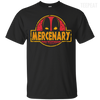 CustomCat Apparel Custom Ultra Cotton T-Shirt / Black / Small Deadpool Mercenary Tee