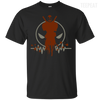 CustomCat Apparel Custom Ultra Cotton T-Shirt / Black / Small Deadpool Pulse Dark Tee