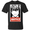 CustomCat Apparel Custom Ultra Cotton T-Shirt / Black / Small Death Note Justice Tee