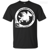 CustomCat Apparel Custom Ultra Cotton T-Shirt / Black / Small Dota 2 Flying Courier Tee