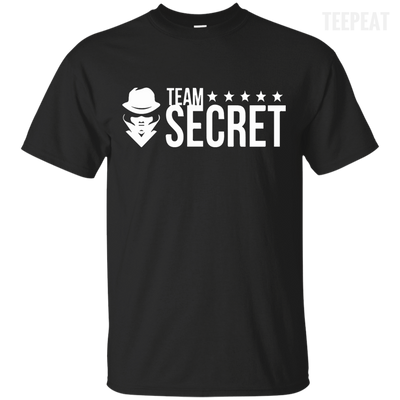 CustomCat Apparel Custom Ultra Cotton T-Shirt / Black / Small Dota 2 Team Secret Tee V2