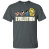 CustomCat Apparel Custom Ultra Cotton T-Shirt / Dark Heather / Small DBZ - Saiyan Evolution Tee