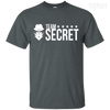 CustomCat Apparel Custom Ultra Cotton T-Shirt / Dark Heather / Small Dota 2 Team Secret Tee V2