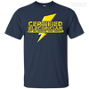 CustomCat Apparel Custom Ultra Cotton T-Shirt / Navy / Small Certified Electrician Tee