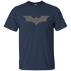 CustomCat Apparel Custom Ultra Cotton T-Shirt / Navy / Small Dark Knight