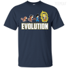 CustomCat Apparel Custom Ultra Cotton T-Shirt / Navy / Small DBZ - Saiyan Evolution Tee