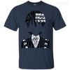 CustomCat Apparel Custom Ultra Cotton T-Shirt / Navy / Small Death the Kid Tee