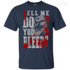 CustomCat Apparel Custom Ultra Cotton T-Shirt / Navy / Small Do You Bleed Tee