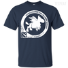 CustomCat Apparel Custom Ultra Cotton T-Shirt / Navy / Small Dota 2 Flying Courier Tee