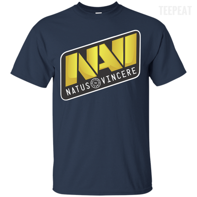 CustomCat Apparel Custom Ultra Cotton T-Shirt / Navy / Small Dota 2 Na`Vi Tee